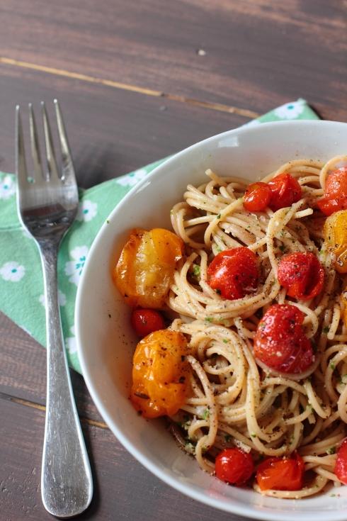Tomato & Pesto Pasta ©2012 HelenaMcMurdo