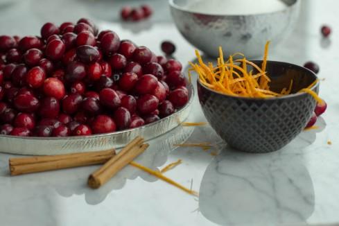 CranberrySauce Mise © 2013 Helena McMurdo
